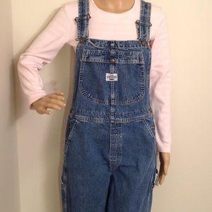 Vintage Lee dungaree bib overalls. SMALL